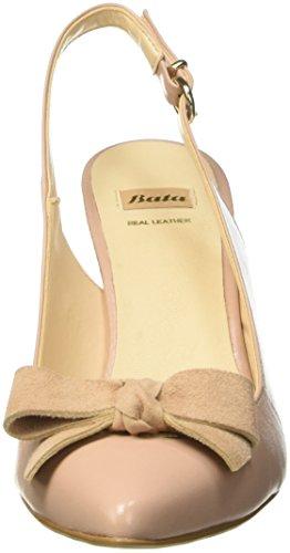 Bata Damen 7248703 Schuhe mit Riemchen Beige
