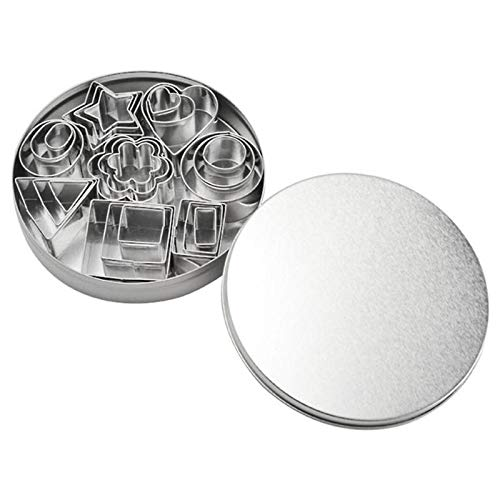 5 Set Round Circle Stainless Steel Cookie Cutter Biscuit DIY Baking Pastry Mold