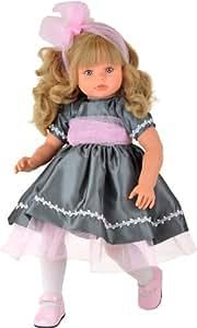 ASI - Pepa, muñeca con vestido gris y tul rosa (Asivil 0282020)