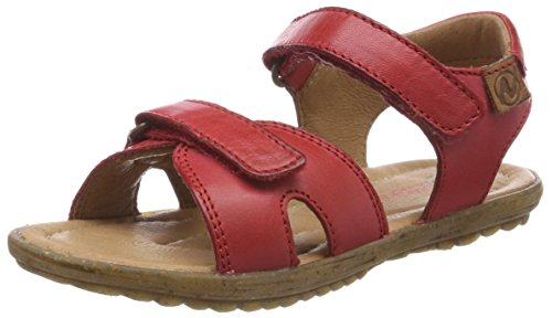 Naturino Boys' Sun Ankle Strap Sandals, Red (Rosso 9106), 12.5UK (Naturino Red Shoes)