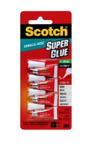Scotch Single Use Super Glue Gel (AD119) ()