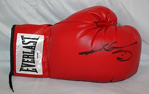Sugar Ray Leonard Hand Signed - Sugar Ray Leonard Signed / Autographed Everlast Boxing Glove- PSA/DNA Auth