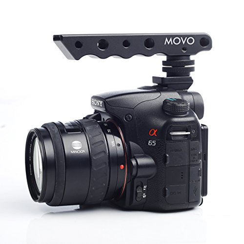 Movo Photo SVH6-SY Video Stabilizing Top Handle Cold Shoe Extender for Sony Alpha DSLR Shoe