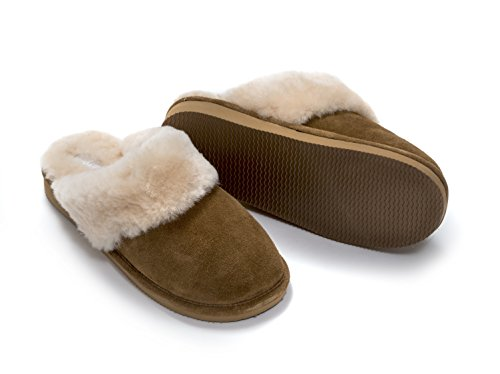 medio Castagno Pecora Pantofole 6 5 Tommytou pv6x1qfw