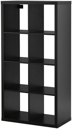 Ikea Kallax Etagere Noir Marron Amazon Fr Cuisine Maison