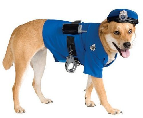 Costumes for all Occasions RU885945LG Pet Costume Police Officer Lg