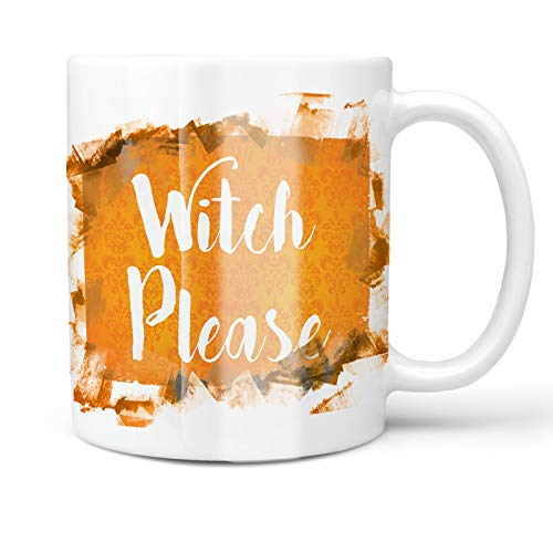 Neonblond 11oz Coffee Mug Witch Please Halloween Orange Wallpaper with your Custom Name]()