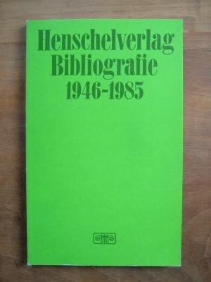 Bibliografie 1946-1985: Bücher, Kalender und Zeitschriften (German Edition)