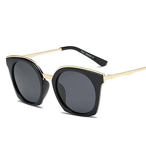 Aoligei Mode pour hommes et femmes personnalité de rétro polarized lunettes de soleil lunettes de soleil tendance uekSL