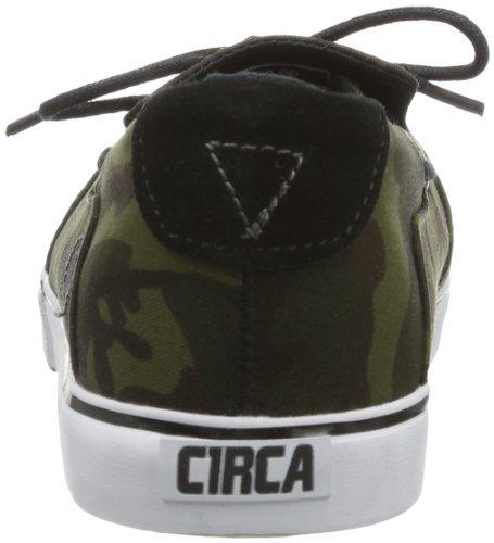 C1RCA CACEBWCA Unisex-Erwachsene Sneaker Grün (Black/Woodland Camo)