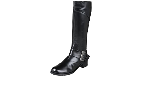 Amazon.com | Amiana Little Kid/Big Kid 15/A0347 Boot, Black calf leather, 13 M US Little Kid | Boots