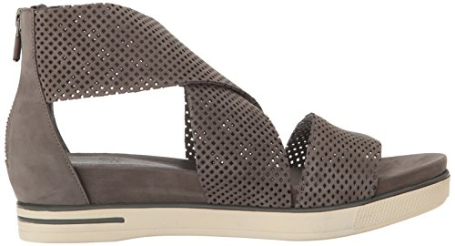 Eileen Fisher Women's Sport2-Nu Flat Sandal, Graphite, 10 M US by Eileen Fisher (Image #7)