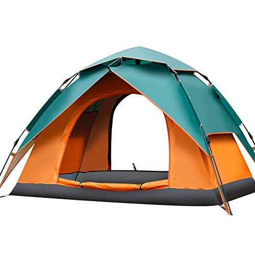 HS-01 Double Deck Tent, Large Space For Outdoor Couples Tent, 2-person Automatic Speed-opening Field Camping Tent…