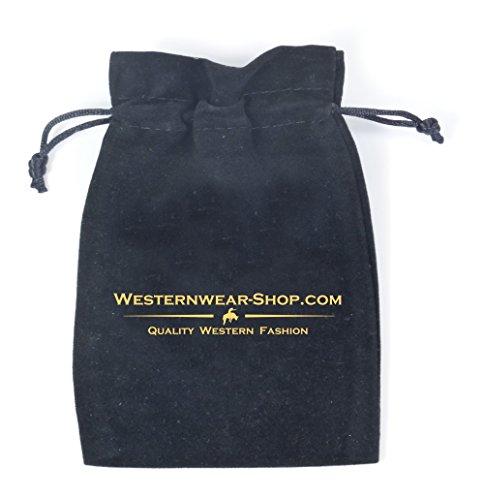 Stars & Stripes Westernhemd Simon - Westernwear-Shop Edition mit Kragenecken und Aufbewahrungsbeutel