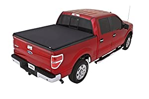 Lund 95872 Genesis Elite Tri-Fold Truck Bed Tonneau Cover for 2004-2014 Ford F-150; 2010-2014 Raptor; 2006-2014 Lincoln Mark LT (w/o Chrome Tie Downs) | Fits 5.5