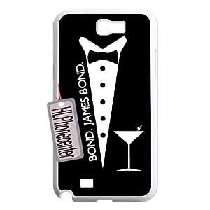 Personalized Unique Design Case for Samsung Galaxy Note 2 N7100, James Bond 007 Cover Case - HL-2076138