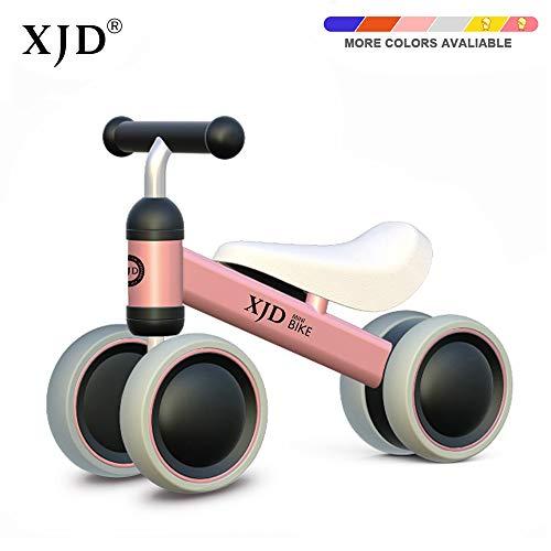 🥇 XJD Bicicleta de Equilibrio para Bebé Juguetes de Bebé para Aprender a Caminar para Niños y Niñas de 1 año Niños de 10-24 Meses el Primer Regalo de Cumpleaños de su Bebé en Bicicleta