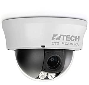 AVTECH TELECAMERA DOME IP POE ANTIVANDALO IR DA SOFFITTO HD 1.3MP AVM332
