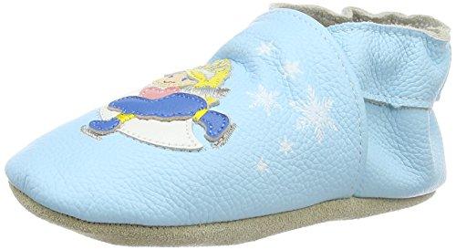 Rose & Chocolat Balloon Baby Mädchen Lauflernschuhe Blau (Ice Princess Aqua Marine)