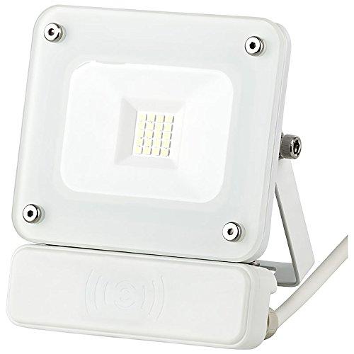 10W LED Fluter Außenleuchte Flutlicht weiß SLIM IP65 Bewegungsmelder Wegbeleuchtung Sensorleuchte #1384 Greenline