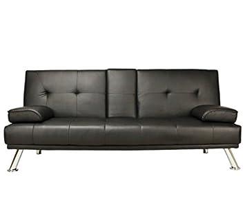Sofá cama de 2 plazas, muy cómodo, asiento y respaldo de ...