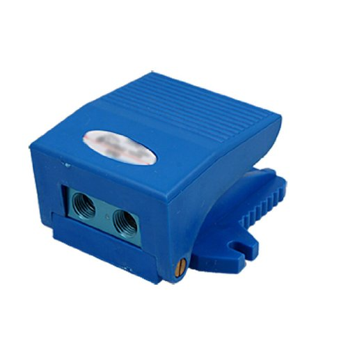 Sonline 2 Way 2 Position Foot Operate Pneumatic Pedal Valve Blue 3FM210-08 by Sonline