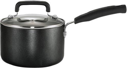T-Fal Signature 3-Quart Sauce Pan, Model C1192464, Black, 1