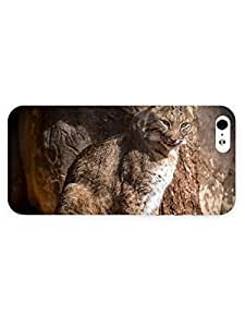 3d Full Wrap Case For Iphone 4/4S Cover Animal Lynx76