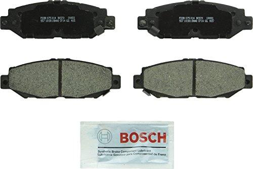 Bosch BC572 QuietCast Premium Ceramic Rear Disc Brake Pad Set