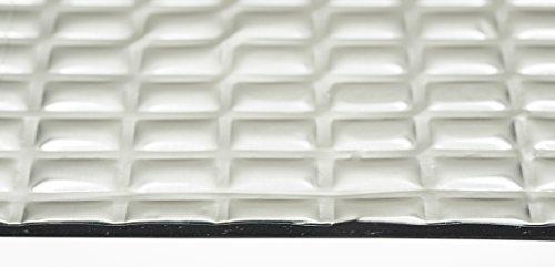 Sound Deadening mat 80mil 7.5 sqft - Sound Deadener Mat - Car Sound Dampening material - Sound dampener - Sound deadening material sound Insulation - Car Sound deadening Bulk Kit Trunk Hood Door Mats by Siless (Image #3)