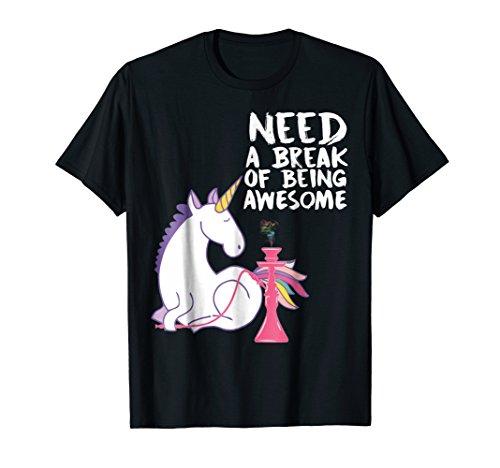 Hookah Unicorn Chill T-Shirt - For all the Shisha Smokers
