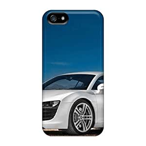 Hot HUI705ipac Case Cover Protector For Iphone 5/5s- Audi R8 2007