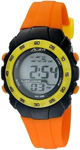 American Design Machine Jr. Kids' ADSG 5001 ORG Phoenix Digital Display Quartz Orange Watch
