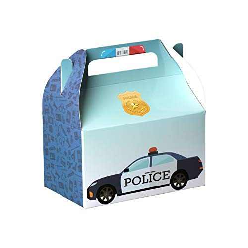 Hammont Police Treat Boxes 10 Pack - 6.25