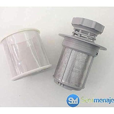 Original Bosch Lavavajillas Malla Micro Filtro - Compatible con ...