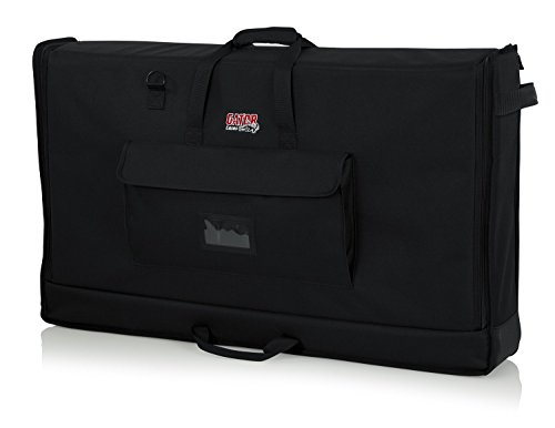 Gator Cases Padded Nylon Carry Tote Bag for Transporting LCD Screens, Monitors and TVs Between 40' - 45' (G-LCD-TOTE-LG)