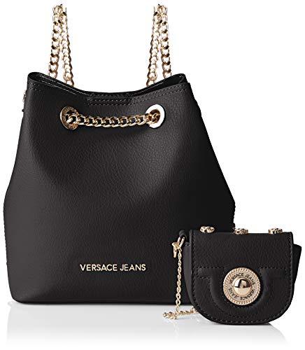 Bag Mujer Bolso Versace Cubo Negro nero 8nRwvqqUf