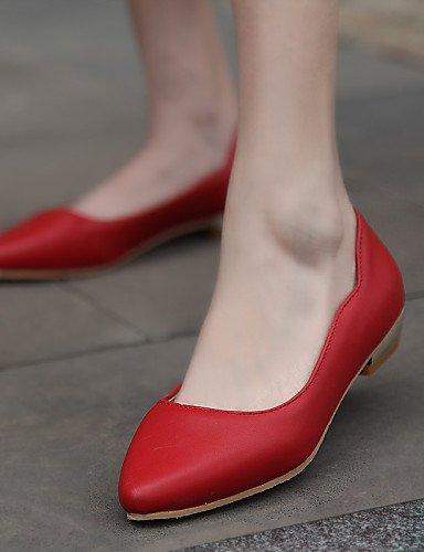 sint mujer piel de de zapatos PDX wPX1xfCw