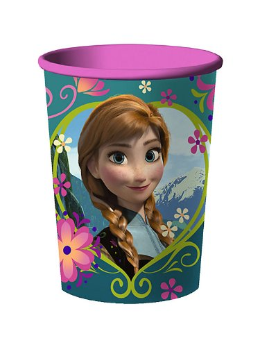 [Disney's Frozen 16 oz Souvenir Plastic Party Cup] (Anna Costume Ideas)