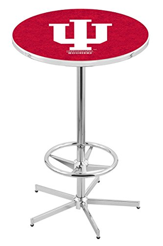 Holland Bar Stool L216C Indiana University Officially Licensed Pub Table, 28