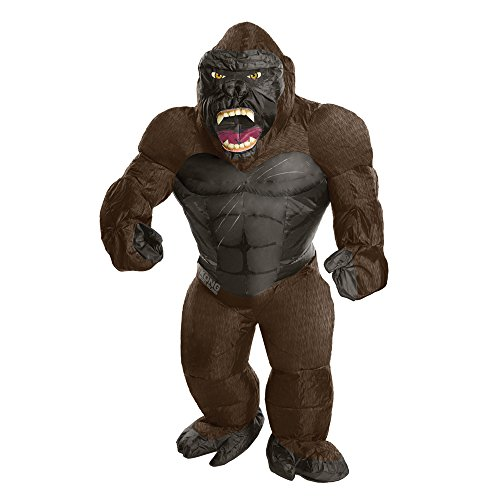 Rubie's Costume Co. Men's Skull Island Inflatable King Kong Costume, As Shown, One Size -