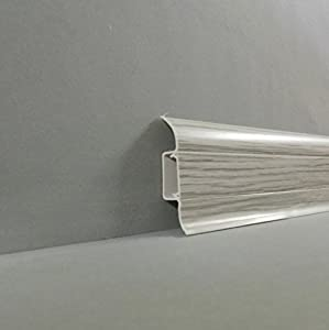 Skirting Board Quot Forani Quot Pvc Plastic With Cable Duct In