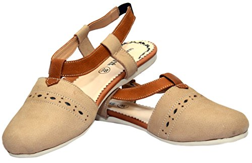 German Maroon Real Made Trend Boots Leather Wear Sandals Beige from Closed rxqSCXr