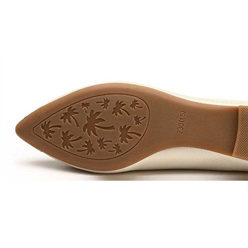 Nuove Donne C Pompe colore Donna A Eu39 uk6 Glitter Pantofole Zhangrong Dimensioni cn39 Flat Owqp5Bxp6E