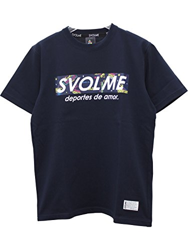 スボルメ(Svolme) ネオンBOXロゴTシャツ 182-91100
