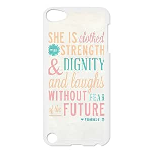 Bible Verse Case Cover Protector for ipod touch 5