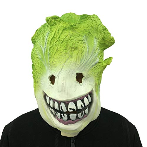Costume Full Face Masks, Elevin(TM) Cosplay Cabbage Monster Melting Face Latex Costume Collectible Prop Scary Mask for $<!--$19.90-->
