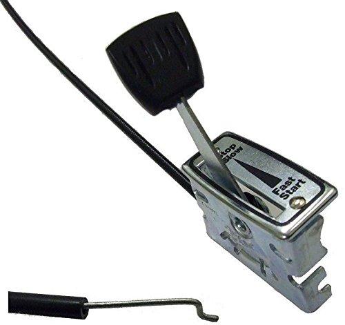 BMS - Cable de Acelerador Universal y Palanca para cortacésped (50 ...