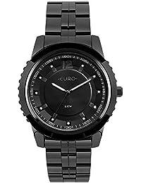 7b2041658e083 Moda - Preto - Relógios   Feminino na Amazon.com.br