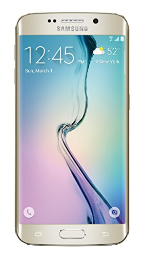 Samsung Galaxy S6 Edge (Verizon) Certified Pre-Owned Prepaid Carrier Locked, Gold